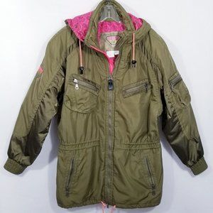 Vtg. Kaelin Ski Jacket Army Green - 10 - EUC